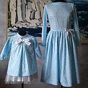 Одежда ручной работы. Ярмарка Мастеров - ручная работа Платье Королева Хлопок 100%. Handmade.