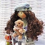 Куклы и игрушки ручной работы. Ярмарка Мастеров - ручная работа кукла большеножка, текстильная, интерьерная. Handmade.