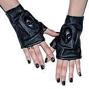 Аксессуары handmade. Livemaster - original item 3D Fingerless gloves