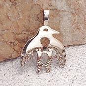 Фен-шуй и эзотерика handmade. Livemaster - original item Kulaika talisman Bird talisman amulet made of metal. Handmade.