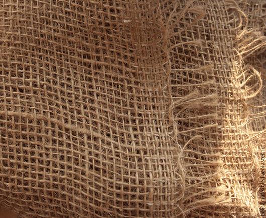 Шитье ручной работы. Ярмарка Мастеров - ручная работа. Купить 50х110 см, Мешковина джутовая. Handmade. Коричневый, суровый
