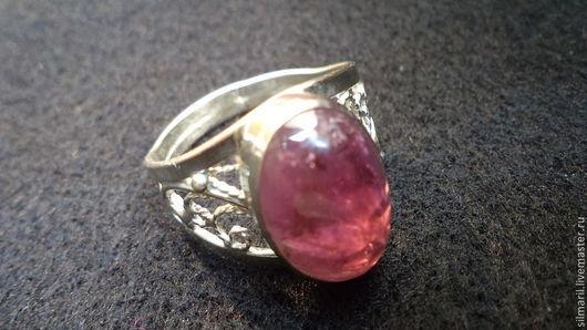 кольцо`Ваше Величество`цена1500-натуральный турмалин Серебренников