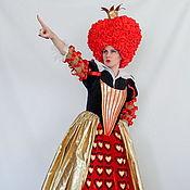 Одежда handmade. Livemaster - original item Red Queen. Scenic suit. Handmade.