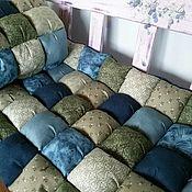 Для дома и интерьера ручной работы. Ярмарка Мастеров - ручная работа Подушки -сидушки уютный дом. Handmade.