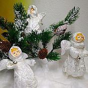 Куклы и игрушки ручной работы. Ярмарка Мастеров - ручная работа Ангел Рождественский 2. Handmade.