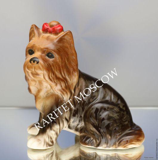 Винтажные предметы интерьера. Ярмарка Мастеров - ручная работа. Купить Йоркширский терьер собака Leonardo Англия 42. Handmade. Собака