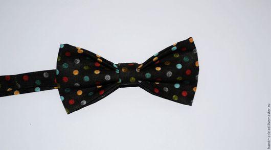 Галстуки, бабочки ручной работы. Ярмарка Мастеров - ручная работа. Купить Бабочка-галстук. Handmade. В горошек, комбинированный, бабочка