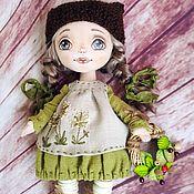 Куклы и игрушки ручной работы. Ярмарка Мастеров - ручная работа Текстильная кукла Лесная. Handmade.