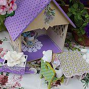 Куклы и игрушки ручной работы. Ярмарка Мастеров - ручная работа Садовый домик  цветочных фей. Handmade.