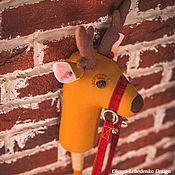 Подарки к праздникам ручной работы. Ярмарка Мастеров - ручная работа Северный олень. Handmade.