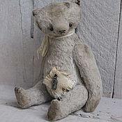 """Куклы и игрушки ручной работы. Ярмарка Мастеров - ручная работа Мишка тедди """"В"""". Мишки тедди. Handmade."""