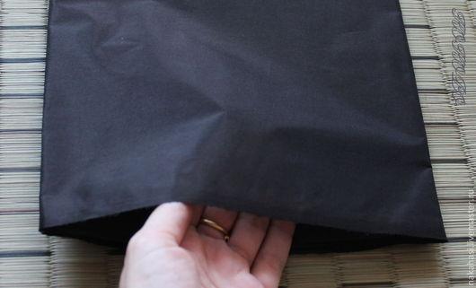 Ткань для цветов ручной работы. Ярмарка Мастеров - ручная работа. Купить Усукиню черного цвета. Арт. 001300. Handmade. Черный