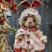 Куклы и игрушки ручной работы. Ярмарка Мастеров - ручная работа Зайка Ягодка.. Handmade.