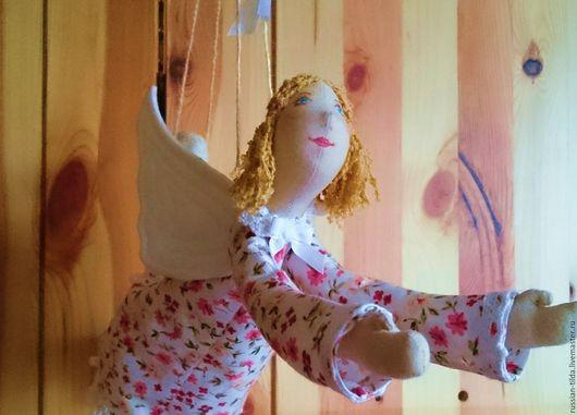 Куклы Тильды ручной работы. Ярмарка Мастеров - ручная работа. Купить Ангел добрых вестей. Handmade. Комбинированный, ангелы