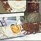 """Декоративная посуда ручной работы. Набор для кухни """"Капучино"""". Artplaneta. Ярмарка Мастеров. Декупажные салфетки, капучино, ручная работа"""