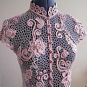 """Одежда ручной работы. Ярмарка Мастеров - ручная работа """"Пыльная роза"""". Handmade."""