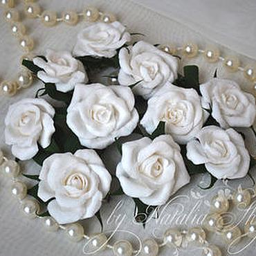 Свадебный салон ручной работы. Ярмарка Мастеров - ручная работа Набор заколок для свадебной прически (10 шт). Handmade.