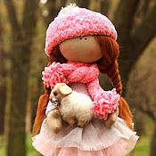 Куклы и игрушки ручной работы. Ярмарка Мастеров - ручная работа Нюша с овечкой. Handmade.
