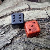 Сувениры и подарки handmade. Livemaster - original item Cubes of mahogany and ebony. Handmade.