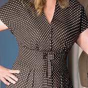 Одежда handmade. Livemaster - original item Vintage dress polka dot