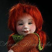 Куклы и игрушки ручной работы. Ярмарка Мастеров - ручная работа Авторская войлочная кукла Юлька. Handmade.