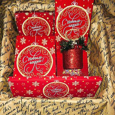 Сувениры и подарки ручной работы. Ярмарка Мастеров - ручная работа Подарочный набор «С Новым Годом». Handmade.