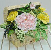 Цветы и флористика ручной работы. Ярмарка Мастеров - ручная работа Ароматный сундучок. Handmade.