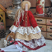 """Куклы и игрушки ручной работы. Ярмарка Мастеров - ручная работа Кукла в стиле Тильда """"Рождественская мелодия"""". Handmade."""