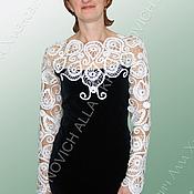 """Одежда ручной работы. Ярмарка Мастеров - ручная работа Платье """"Нить Ариадны"""" мод.№179. Handmade."""