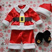 Костюмы ручной работы. Ярмарка Мастеров - ручная работа Костюм Санта Клауса для малыша. Handmade.