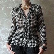 Одежда ручной работы. Ярмарка Мастеров - ручная работа шелковая блузка. Handmade.