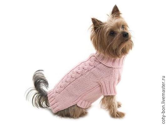 Аксессуары для собак, ручной работы. Ярмарка Мастеров - ручная работа. Купить вязаная одежда для собак и кошек. Handmade. Разноцветный, акрил