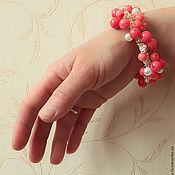 Украшения handmade. Livemaster - original item bracelet Ruddy. Handmade.