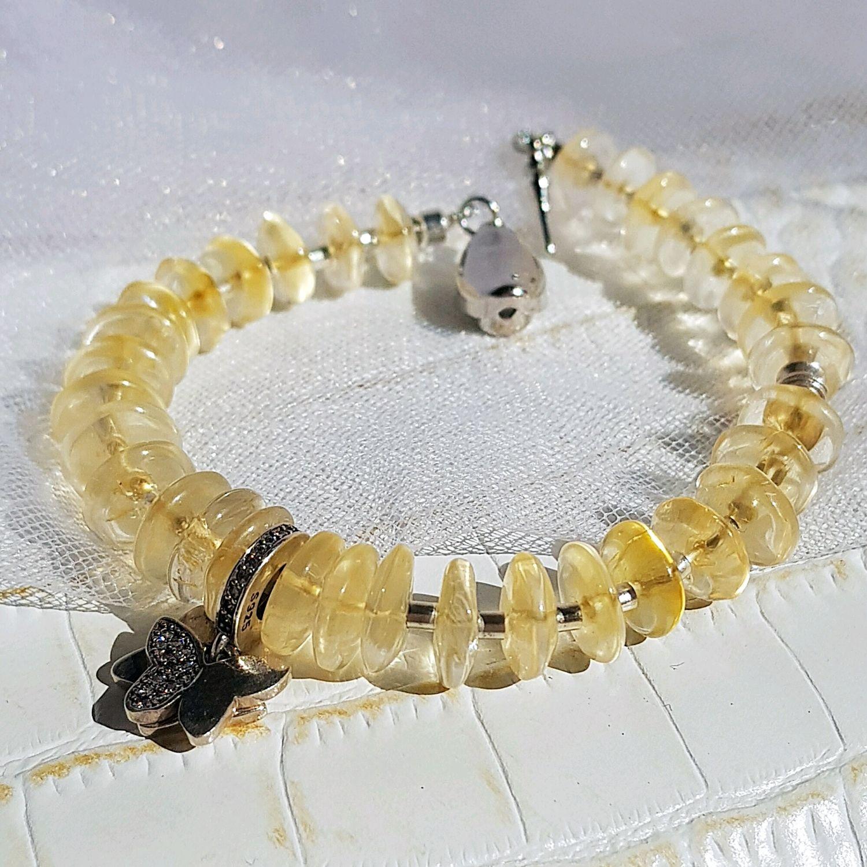Bracelet in citrine, Jewelry Sets, Krasnodar,  Фото №1