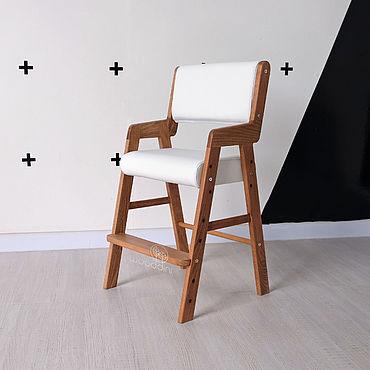 Мебель ручной работы. Ярмарка Мастеров - ручная работа Стул буковый растущий Альмо макси белый. Handmade.