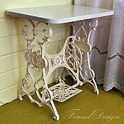 Для дома и интерьера ручной работы. Ярмарка Мастеров - ручная работа Винтажный столик на станине Kohler. Handmade.