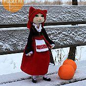 Куклы и игрушки ручной работы. Ярмарка Мастеров - ручная работа Кошка войлочная, Греческая танцовщица. Handmade.