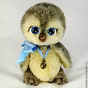 Куклы и игрушки ручной работы. Ярмарка Мастеров - ручная работа Натуральный мех, пингвин «Алли». Handmade.
