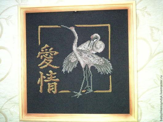 Животные ручной работы. Ярмарка Мастеров - ручная работа. Купить журавли. Handmade. Разноцветный, тёмно-зелёный