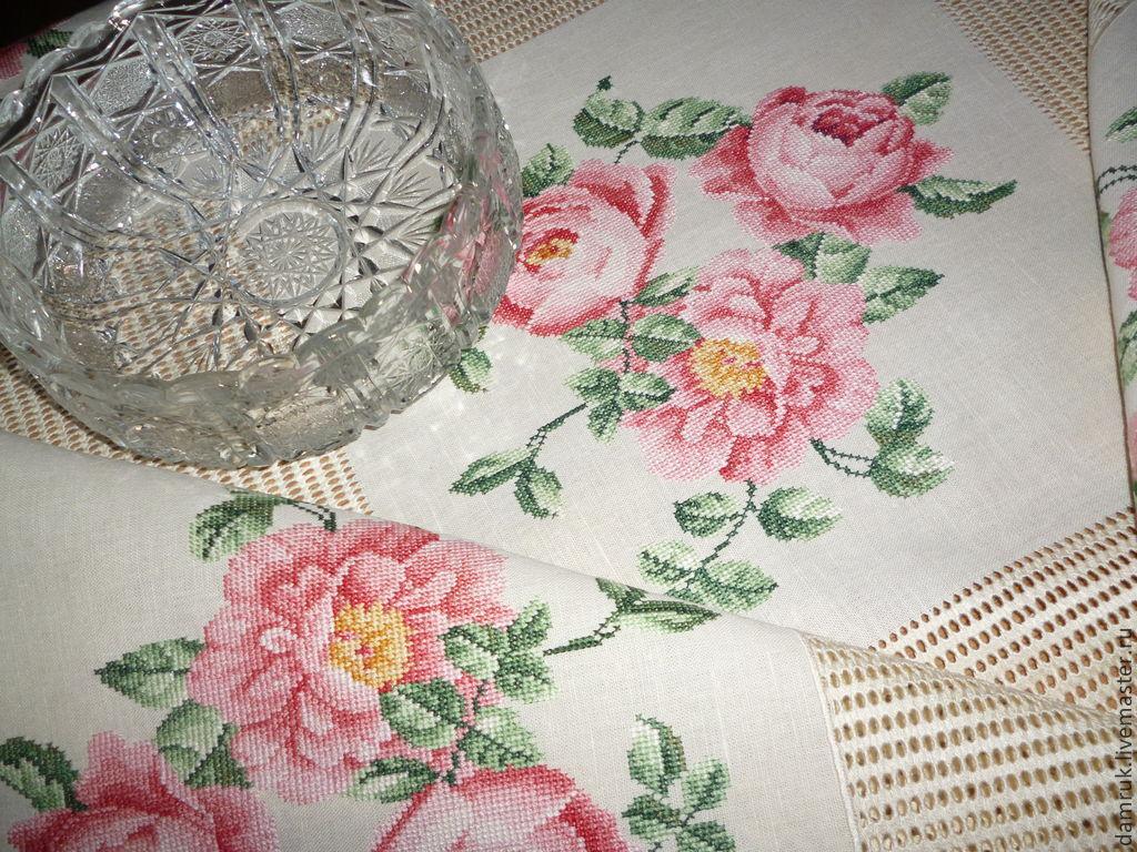 Вышивка ковров на заказ