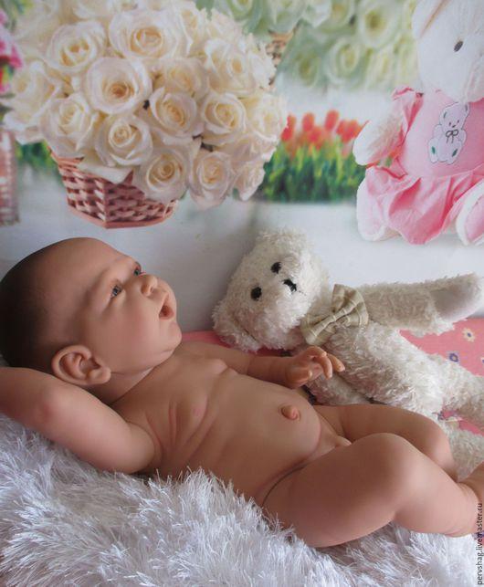 Куклы-младенцы и reborn ручной работы. Ярмарка Мастеров - ручная работа. Купить Мальчиша,деточка 55см. Handmade. Бежевый, анатомический
