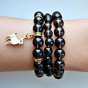 Украшения handmade. Livemaster - original item Smoky Topaz bracelets. Handmade.