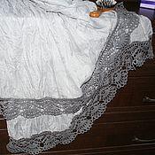 Аксессуары ручной работы. Ярмарка Мастеров - ручная работа Легкий палантин-шарфик в стиле бохо. Handmade.