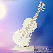 Для дома и интерьера handmade. Livemaster - original item Premium wooden figurine as a gift to the violinist. Handmade.