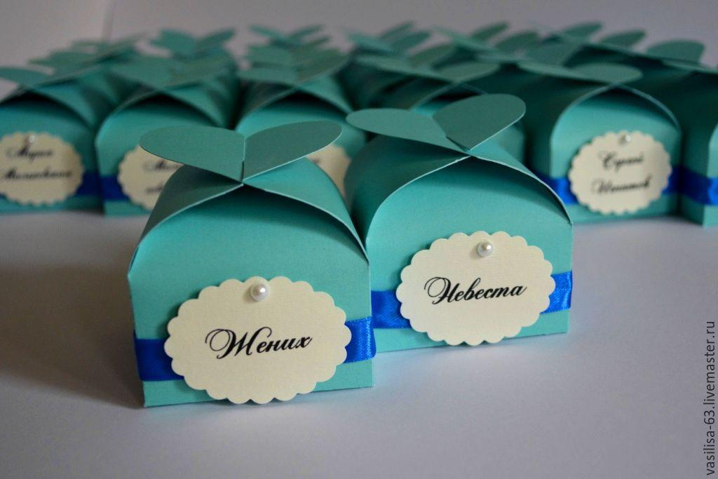 Бонбоньерки на свадьбе фото