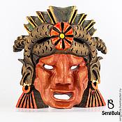 Для дома и интерьера ручной работы. Ярмарка Мастеров - ручная работа Маска жреца ацтекского бога Кетцалькоатля. Handmade.