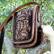 Сумки и аксессуары handmade. Livemaster - original item Men`s leather bag