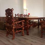 Для дома и интерьера ручной работы. Ярмарка Мастеров - ручная работа Стол из массива. Handmade.