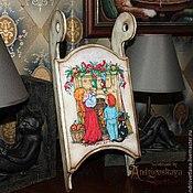 Подарки к праздникам ручной работы. Ярмарка Мастеров - ручная работа Санки Рождественские подарки. Handmade.