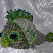 Одежда ручной работы. Ярмарка Мастеров - ручная работа Рыба Ёрш. Handmade.